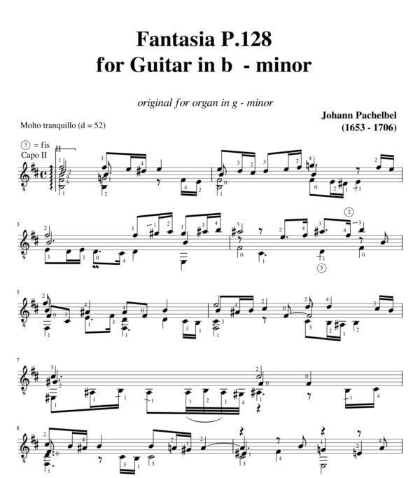 Pachelbel Fantasia P.128 jpg