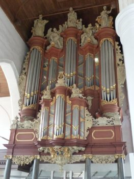 Leeuwarden: Christian Müller-orgel uit 1727 in de Grote Kerk