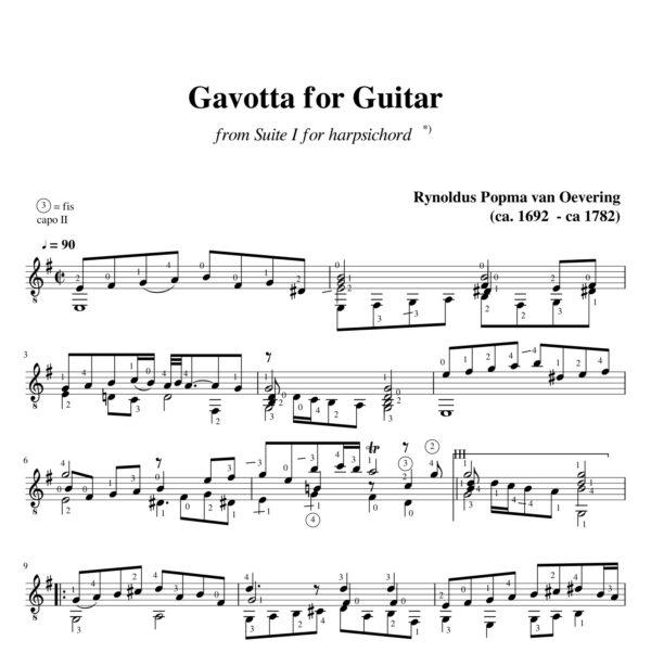 Popma Suite I Gavotta