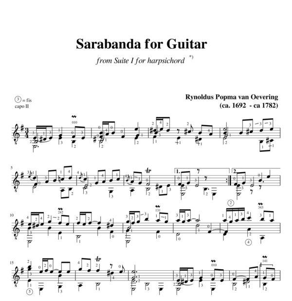 Popma Suite I Sarabanda