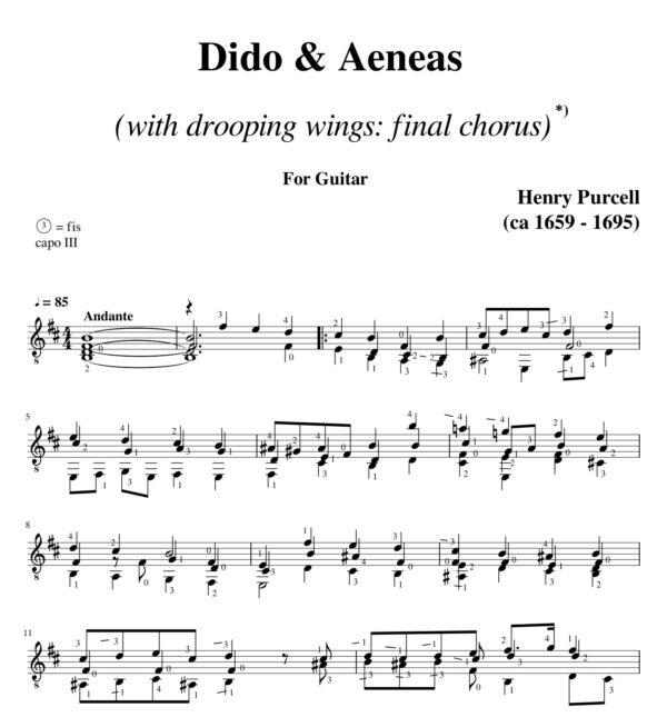 Purcell Dido & Aeneas Final Chorus