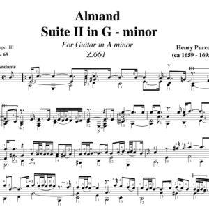 Purcell Almand Suite II in G minor Z.661 jpg