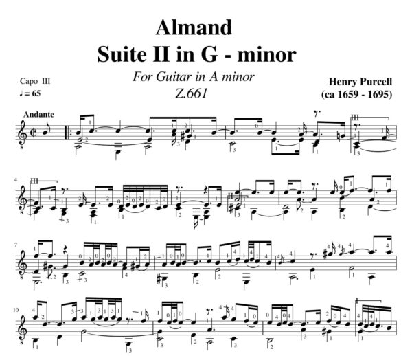 Purcell Almand Suite II in G minor Z.661 jpg