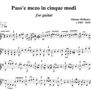 Molinaro Pass'e meza in cinque modi