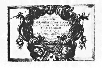 Passacalles & Obras De Murcia 1732