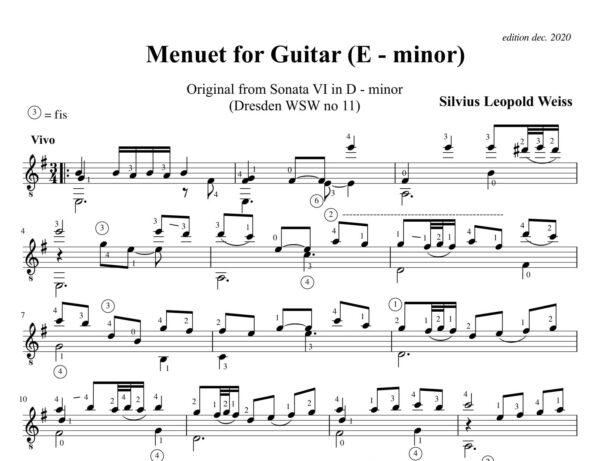 Weiss Sonata WSW 11