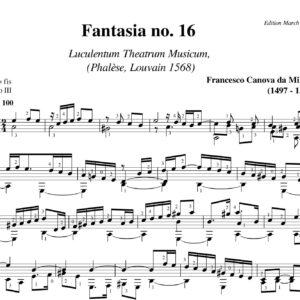 Da Milano Fantasia no 16