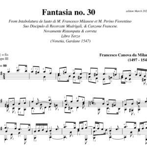 Da Milano Fantasia no 30