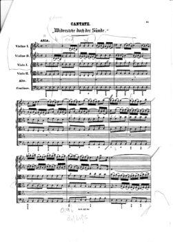 Cantate BWV 054