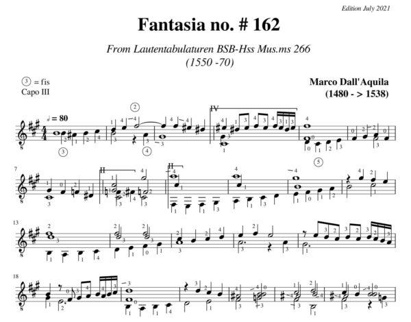 Dall' Aquila Fantasia # 162