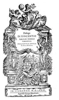 Vincentio Galilei Dialogo della musica antica