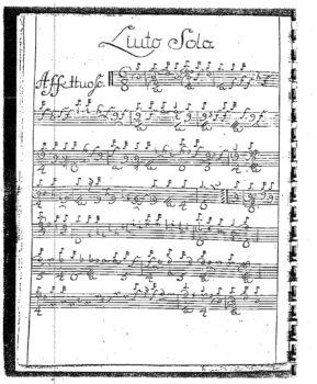 Hagen Sonata F minor Affettuoso