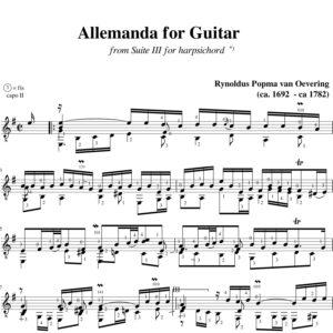 Popma Suite III Allemanda