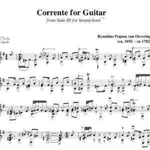 Popma Suite III Corrente